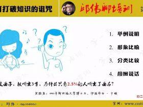 【第四天】3月24日分享精选:如何打破知识诅咒? 培训师邱伟
