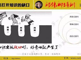 【第六天】3月28日分享精选:如何打开知识的缺口 培训师邱伟
