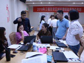 2018年三福百货区域经理经验萃取工作坊 培训师邱伟